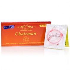 [유니더스] 굴곡이 있는 체어맨 콘돔 1박스 (10p) www.joynjoy.com