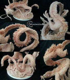Haku - Details. Sculpture made by wesenwaechter.