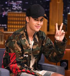 "Justin Bieber Visits ""The Tonight Show Starring Jimmy Fallon"""