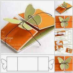 Gaveta Virtual: Cartão borboleta