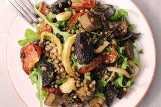Balsamic Beetroot, Sausage & Lentil Bowl