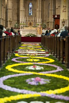 Corpus Christi Procession in Arundel Diocese