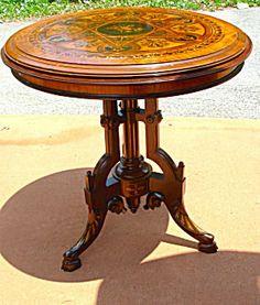 Victorian Neogrec/Rennaissance Revival Table