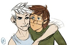 jack frost x hiccup