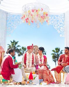 How beautiful does Jennifer  Shekhar look on their special day!? Their Indian Wedding at @paseahotel has been featured on @southasianbridemagazine! (Click the link in our bio to see the full feature) (Venue: #paseahotel | Planner: @ajitachopraevents | Photographer: @brajamandala |Event  Floral Designer: @shawnayamamoto | DJ  Lighting: @3dSounds | Cinematography: @AvecLumiereproductions | Makeup  Hair: @DolledupbyLulu | Henna: @HinalsBeautyStudio | Invitations: @InviteInk | Wedding Favors…