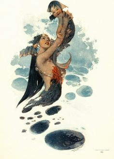 mermaid Illustrations : 네이버 블로그