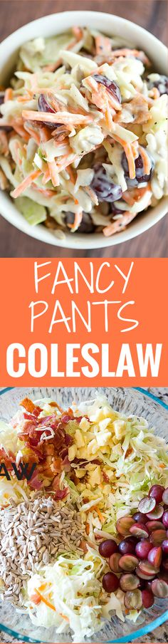 Fancy Pants Coleslaw | Brown Eyed Baker | Bloglovin'