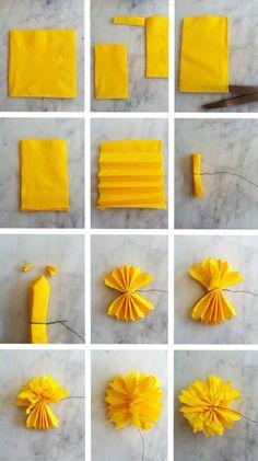 the creative muster: DIY paper flower crown à la Bri Emery for Gap+Rue