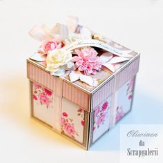 First Communion Exploding Box *DT Scrapgaleria*
