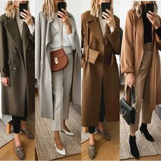 Business looks for you. or looks for you. Winter Fashion Outfits, Casual Fall Outfits, Modest Outfits, Simple Outfits, Classy Outfits, Look Fashion, Autumn Winter Fashion, Cool Outfits, 70s Fashion
