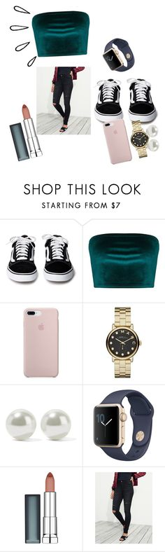 """""""Untitled #15"""" by rileyvgreen on Polyvore featuring Marc by Marc Jacobs, Kenneth Jay Lane, Maybelline, Old Navy and Hollister Co."""