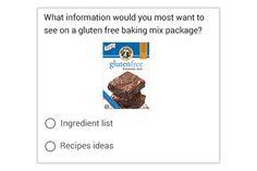 Two Choice with Image- Bild mit zwei Optionen   Die Befragten sehen ein Bild und zwei Antwortmöglichkeiten.