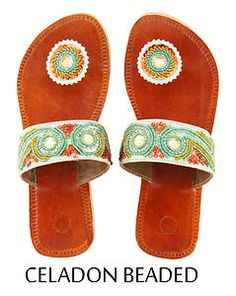 Paduka Sandals Unique Leather Toe Post Womens New Shoes Flats Flip Flop Slides | eBay