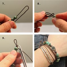 Easy Knot Bracelets - I ALWAYS PICK THE THIMBLE