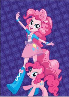 Pinkie Pie from Equestria Girls