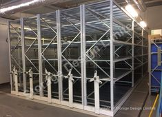 Apex Longspan on Mobile bases, Bridgend, South Wales Longspan Shelving, Mobile Shelving, Storage Design, South Wales, Project Management, Lockers, Projects, Furniture, Home Decor