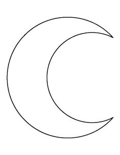 28 Best Crescent Moon Outline Tattoo images | Moon outline ...