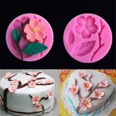 Rosas 3D Molde de Silicona Pastelería Pastel Decoración Topper Fondant Fimo Molde-CB