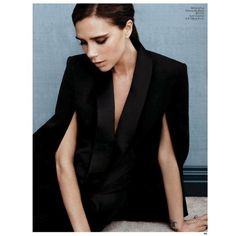 VOGUE CHINA Victoria Beckham by Photographer Josh Olins Image... ❤ liked on Polyvore featuring models