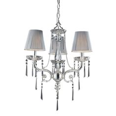 Elk Lighting Princess 3-light Polished Chandelier