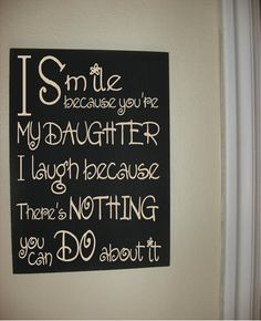 Custom Personalized Wooden sign-I smile by CEDARCREEKCUSTOM