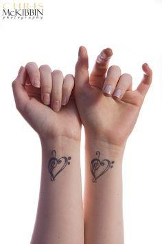 Best Friend Tattoos For Women | cute matching tattoos for best friends. cute matching tattoos for est