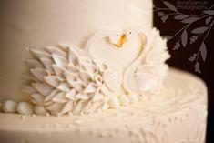 Gorgeous Swan Cake!  Google Image