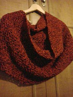 Bufanda circular Crochet