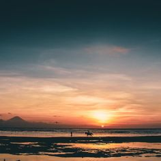 Sunsets on Gili T - an island just off the coast of Bali Gili T, Gili Island, Sunsets, Bali, Places To Visit, Coast, Outdoor, Beautiful, Outdoors