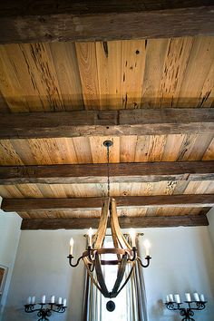 Post and Beam Ceiling