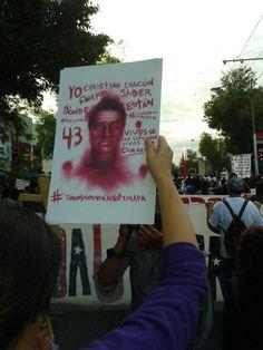 ¡YO ME INFORMO, YO CUESTIONO, YO NO OLVIDO!  #AccionGlobalAyotzinapa #YaMeCanse28