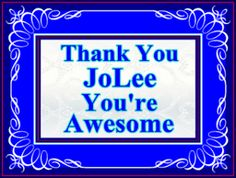 Personal Post Count Milestones ~ JoLee Chapman Makes Her 50th Post On Affiliforums ~