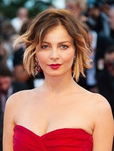 Short Wavy Ombre Hair #shorthair #ombre #illusionscolorspa