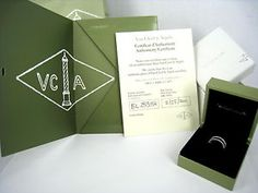 van cleef and arpels packaging