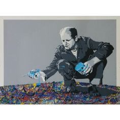 Jackson Pollock By Mr Brainwash: Category: Art Currency: GBP Price: GBP6000.00 Retail Price: 6000.00 Silk Screen Prints Hand Finished…