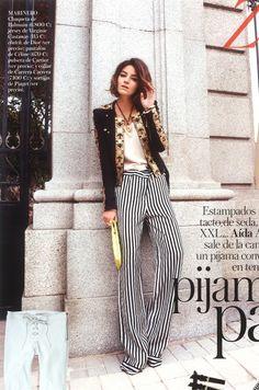 LOVE this Pajama pant trend