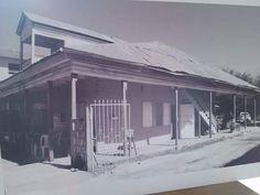 Una casa típica de la época antigua de Chetumal.