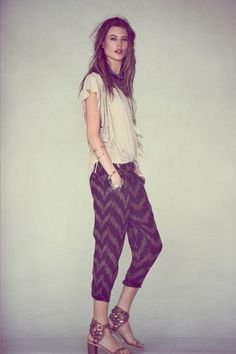 Behati Prinsloo - FreePeople 2013 June LookBook