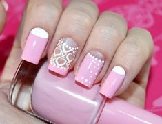 Discover a lot of photos about Trendy French manicure, a service that helps you discover and save photos of the best ideas Gel Nail Colors, Gel Nail Art, Nail Polish, Art Nails, Pink Nail Designs, Cool Nail Designs, Pink Manicure, Pink Nails, Gel Nails French