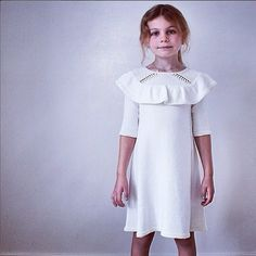 READER'S MINISTRIKK: Dansekjolen, size 6 years, by Ingeborg Bjelland  This makes me cry with pride. Almost! <3