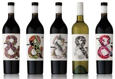 Hither & Yon Wine, designed by Voice.