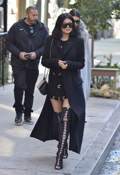 Who: Kylie JennerWhen: October 20, 2015Why: Kinky thigh-high boots and mini dresses are Kylie's bread and butter but hey, if it's not broke don't fix it.
