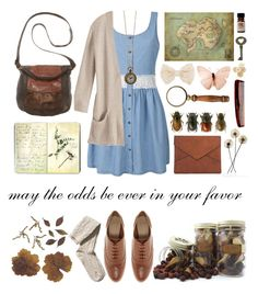 """""""The Hunger Games: The Reaping"""" by katniss-xoxo ❤ liked on Polyvore featuring Ally Fashion, Chloé, H&M, ASOS, MOOD, Moleskine, The Sak, Mason Pearson, C.R.A.F.T. and women's clothing"""