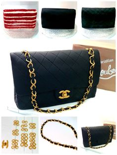 Chanel Handbag and Louboutin High Heels Shoe Cake