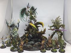 Age of Sigmar | Sylvaneth | Sylvaneth Warband, Alarielle, Treelords, Dryads…