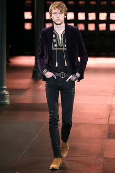 Saint Laurent | Spring 2015 Menswear Collection | Look 33