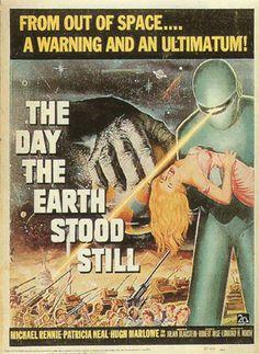 Twenty-three Star First Contact Science Fiction Movie Film Poster Alice Krige Fabric Silk Poster Inchcanvas poster - automobil Sci Fi Comics, Horror Comics, Robert Wise, Retro Robot, Classic Sci Fi, Classic Movie Posters, Horror Posters, Internet Movies, Retro Futuristic