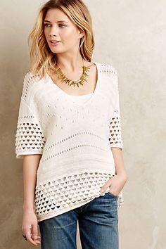 Cumulus Sweater Tee - anthropologie.com