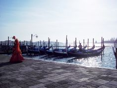 Veneza-Gôndolas