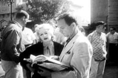 On the set of Whatever Happened to Baby Jane?